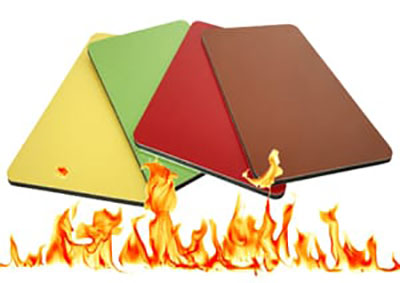 fireproof aluminum composite material