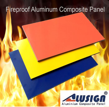 A2 Fireproof Aluminium Composite Panel