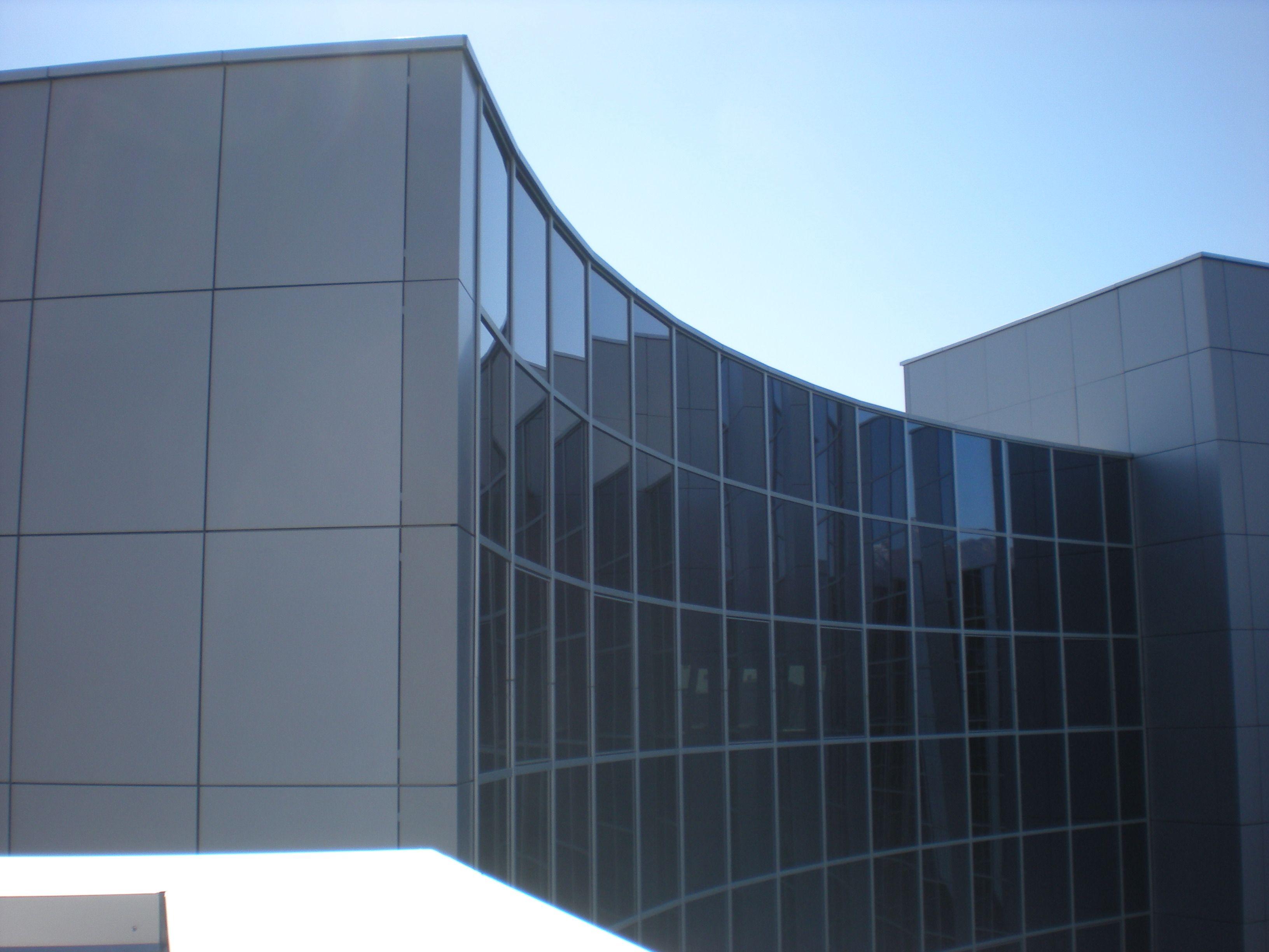 aluminum composite panel cladding