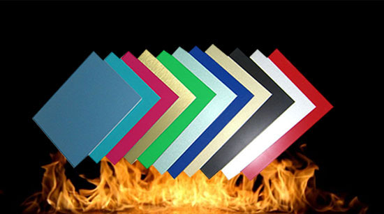 fireproof acp material