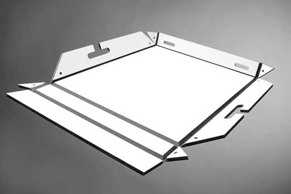 Aluminum Composite Panel Folding Form