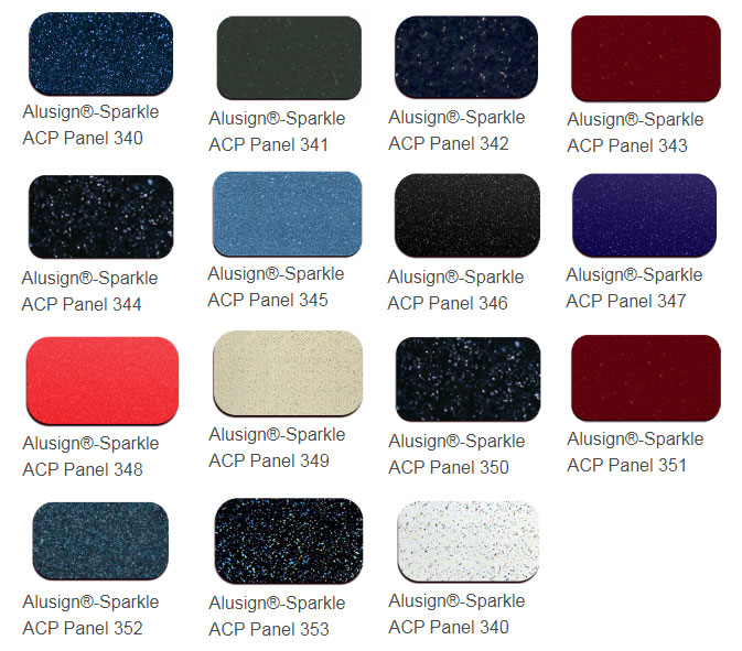 sparkle acp panel color chart